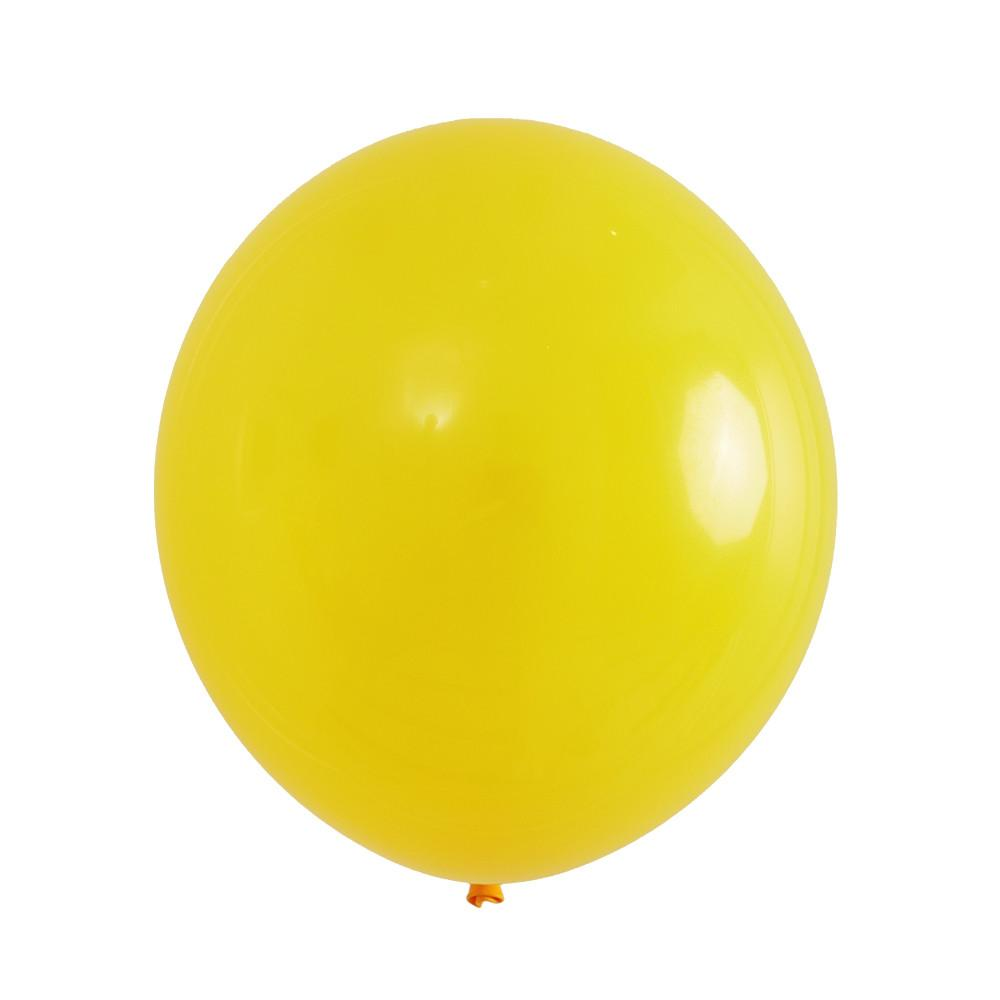 "Jumbo Mumbo Balloon Yellow 36"" (1 ct)"