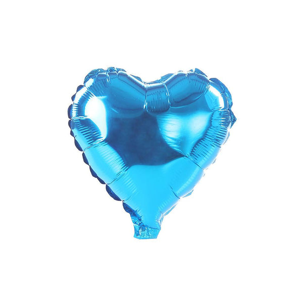 Blue Happy Heart 18""