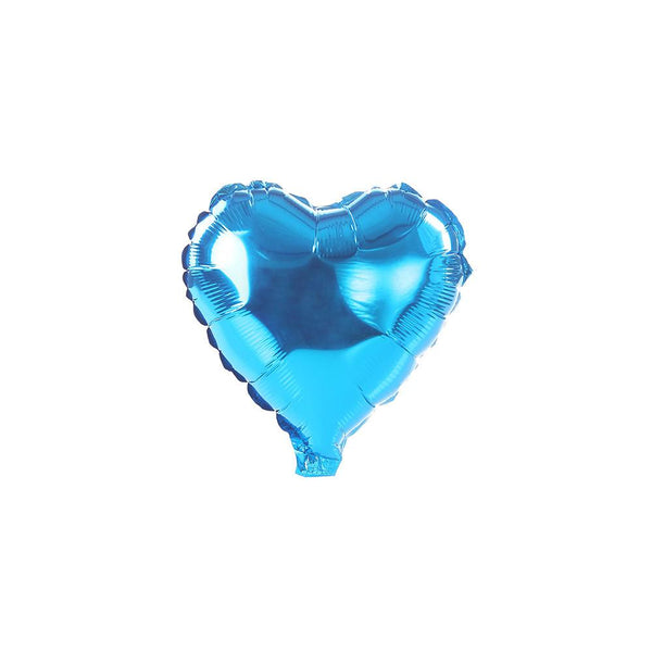 Blue Happy Heart 10""