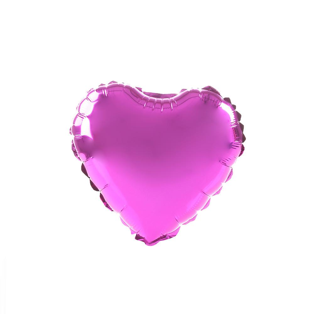 Fuschia Happy Heart 24""