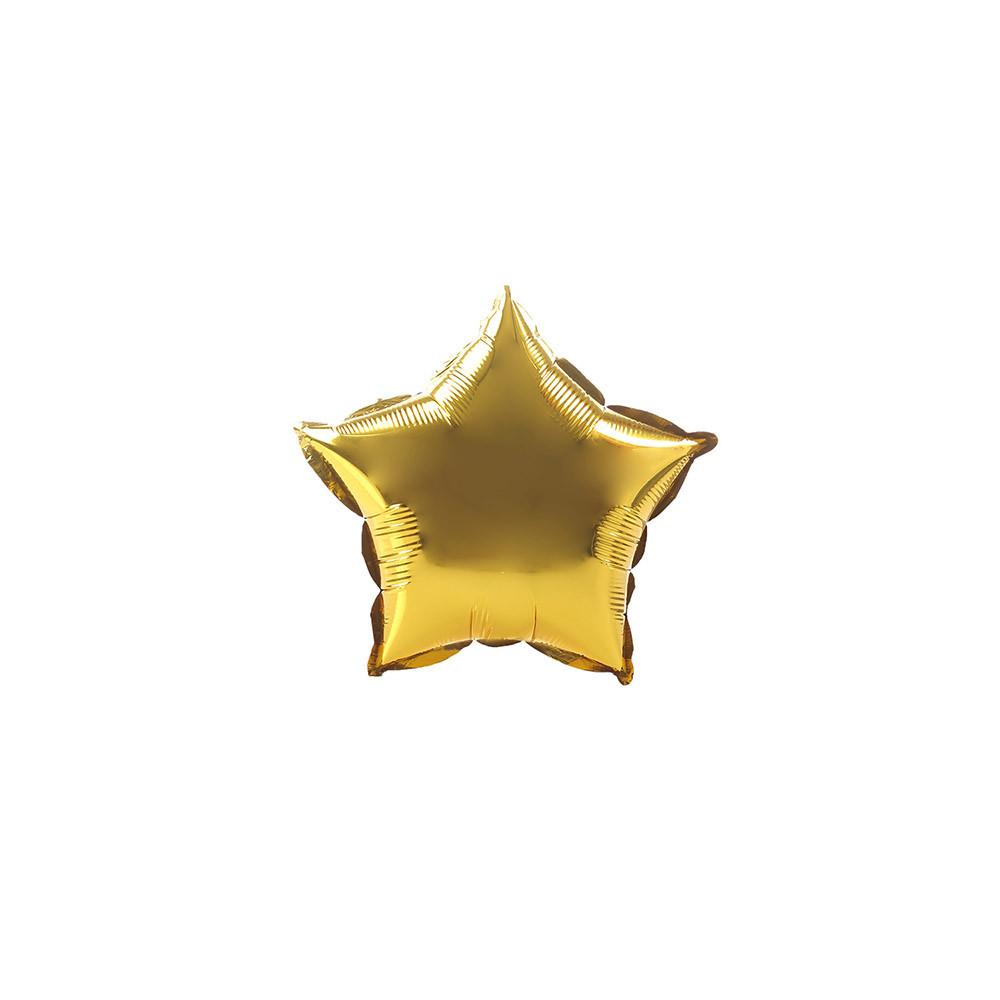 Gold Twinkle Star 10""