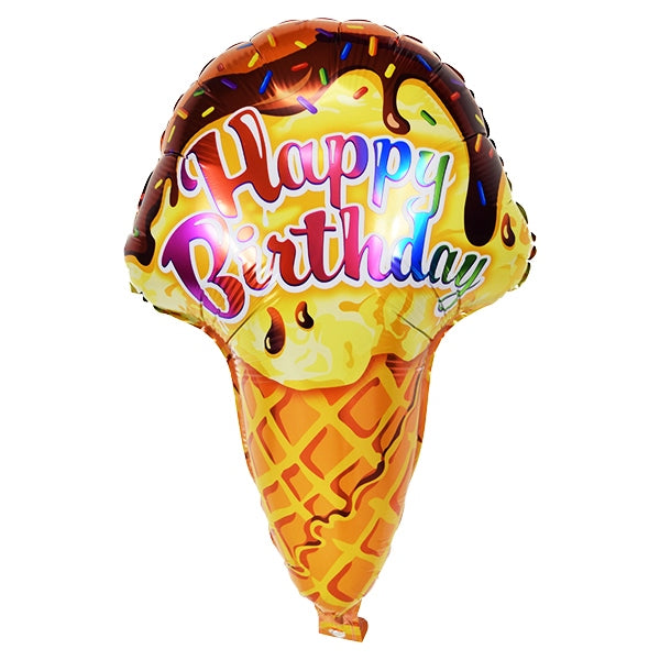 Happy Birthday Cone  26""