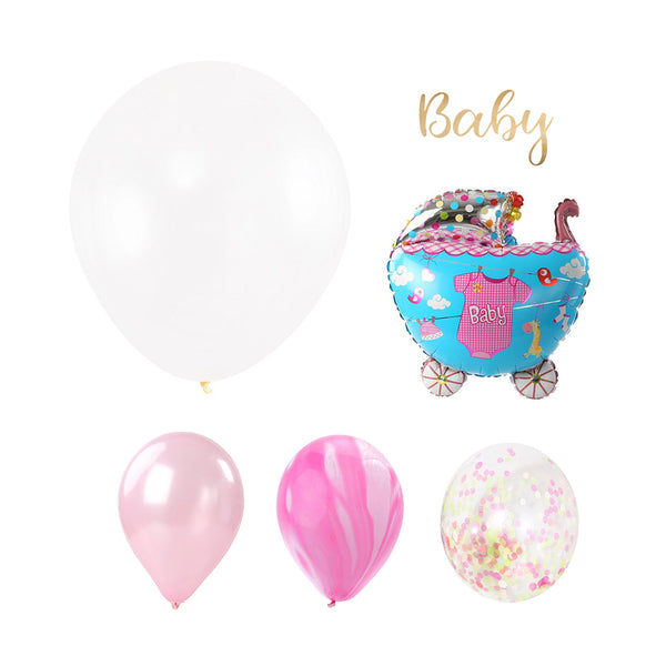 Baby Girl Word Party Set