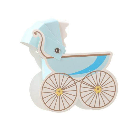 Blue Pram Candy Box