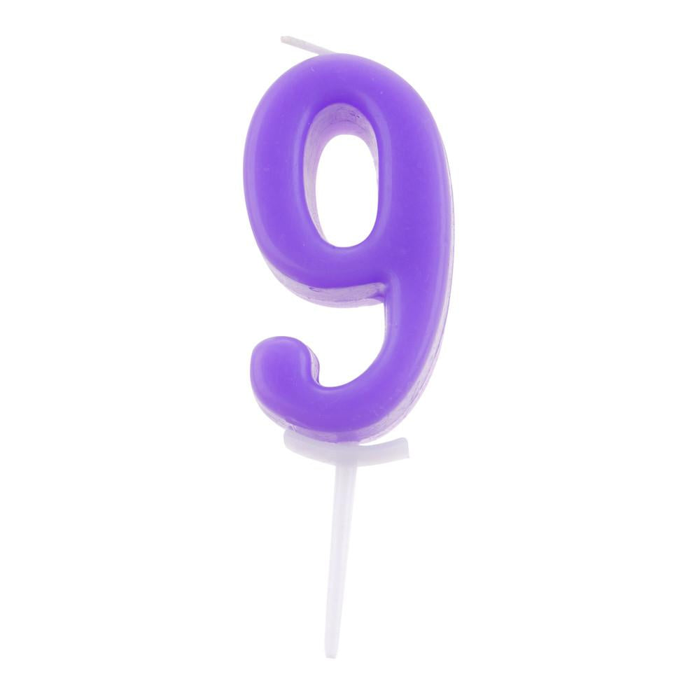 No. 9 in Purple