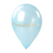 Congratulations Balloon Sticker in Gold