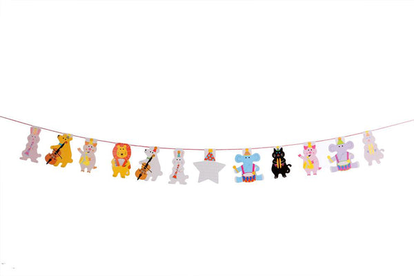 Circus Animals Buntings