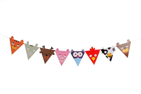 Animal Fiesta Buntings