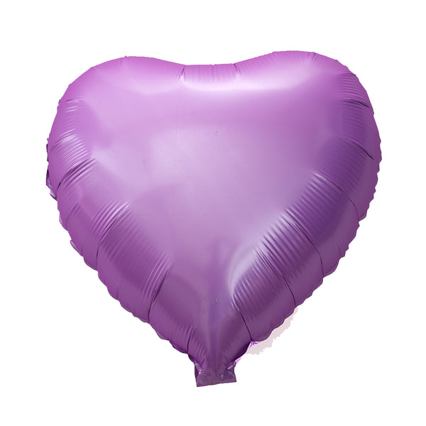 Pastel Purple Happy Heart (medium)