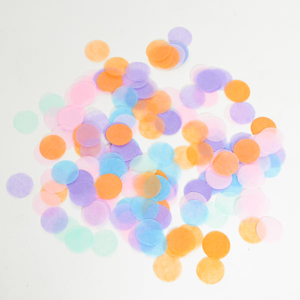 Party On Confetti (Round)