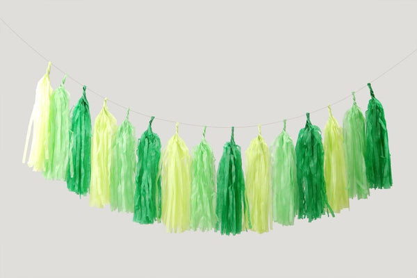 Tassel Me Up Green