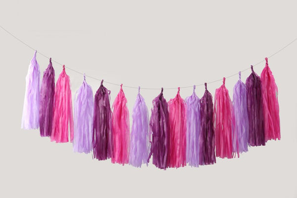 Tassel Me Up Purple
