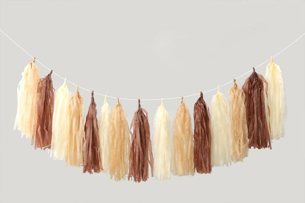 Tassel Me Up Brown
