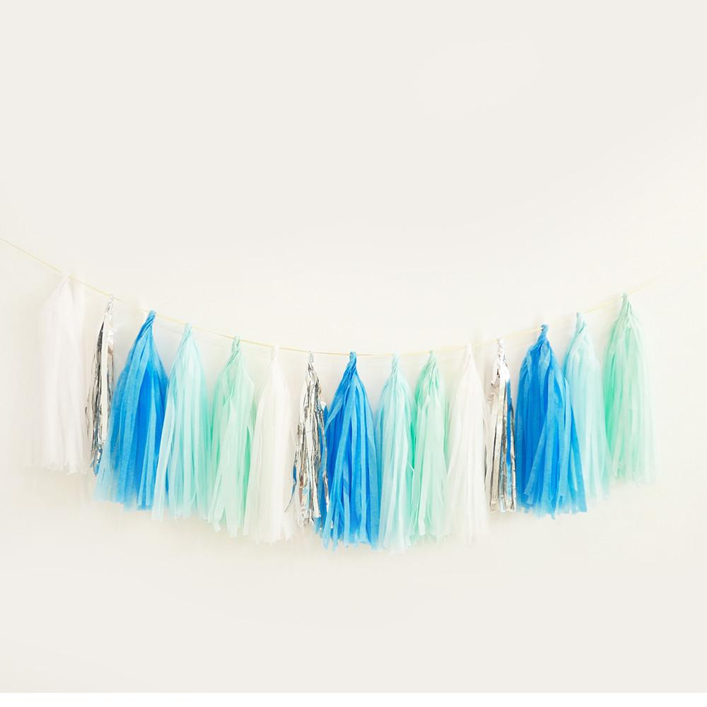 Tassel Me Up Azure