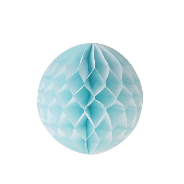 "Honeycomb Ball 4""  -  Light Blue"