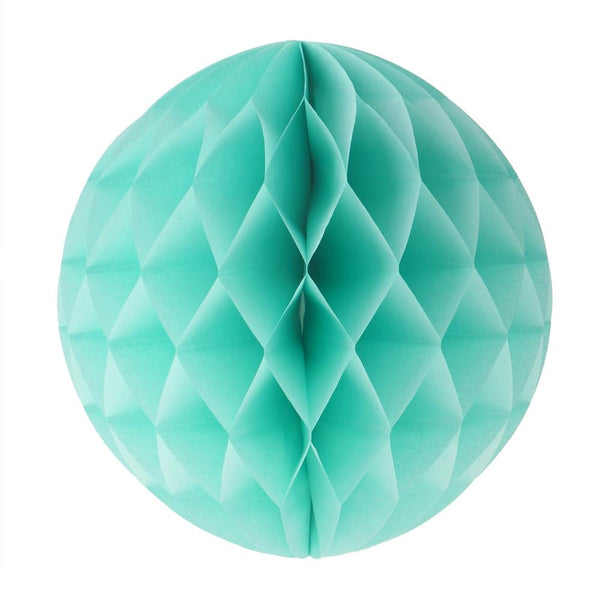 "Honeycomb Ball 10""  -  Mint Green"