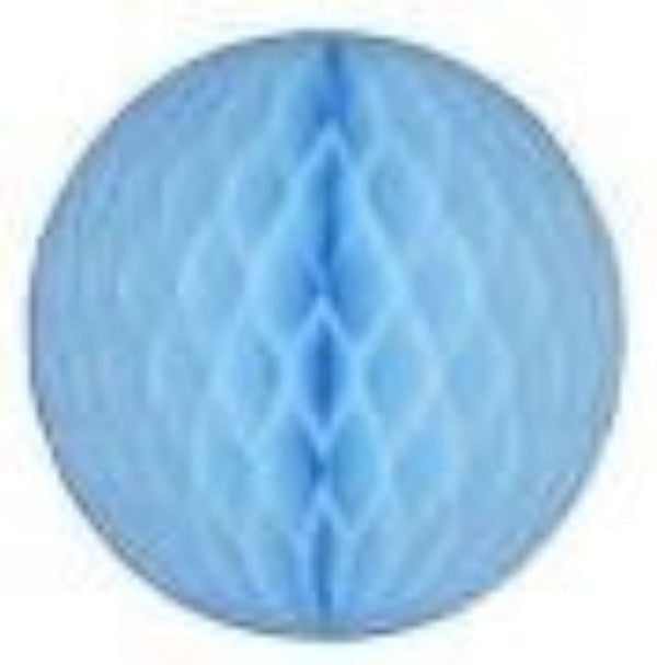 "Honeycomb Ball 12""  -  Light Blue"