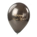 Happy New Year Balloon Sticker in Gold