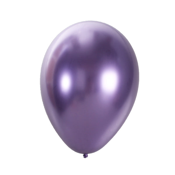 CHROME DIPPED LATEX PURPLE 12 (Pack of 10)