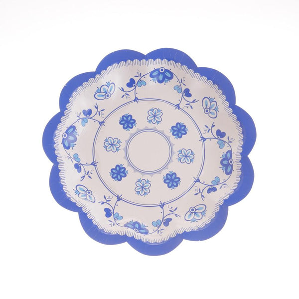 High Tea Time Plates 17cm A (Pack of 12)