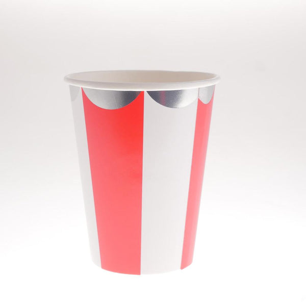 Carousel Red Cups  (Pack of 12)