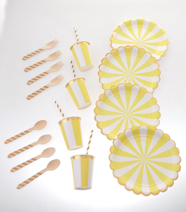 Carousel Yellow Tableware Bundle