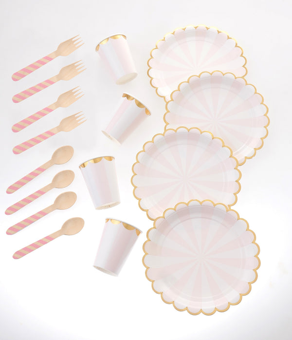 Carousel Pink Tableware Bundle