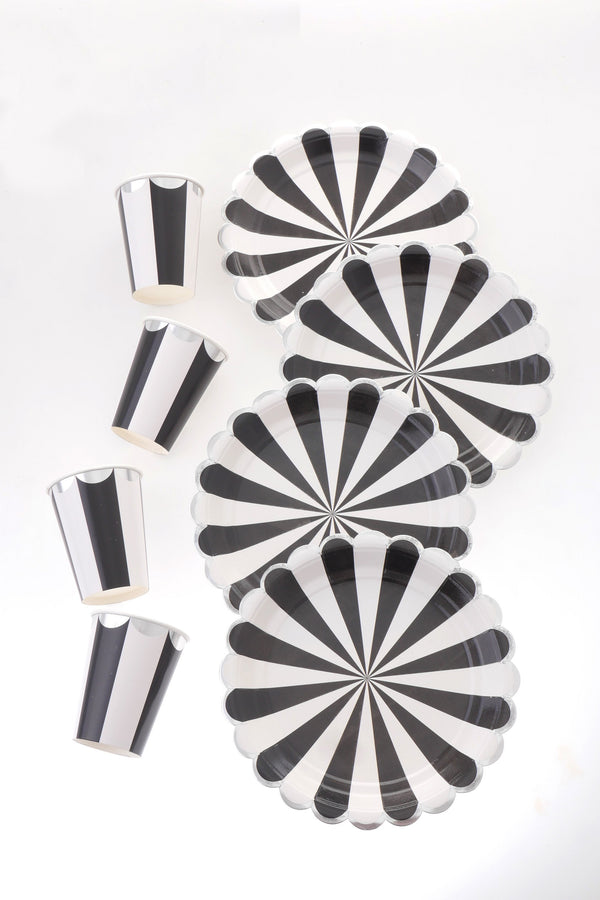 Carousel Black Tableware Bundle