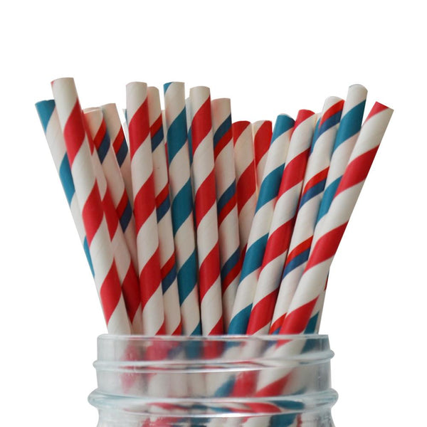 Nautical Straws Multipack
