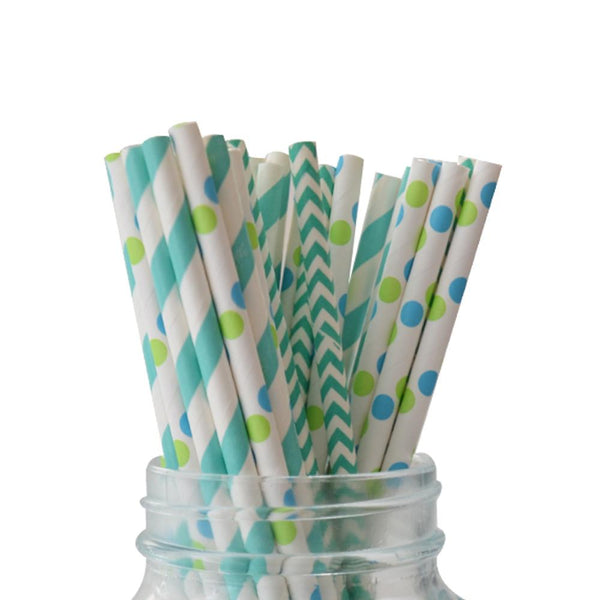 Under The Sea Straws Multipack