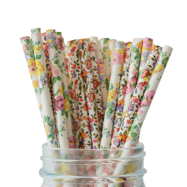Flower Garden Straws Multipack
