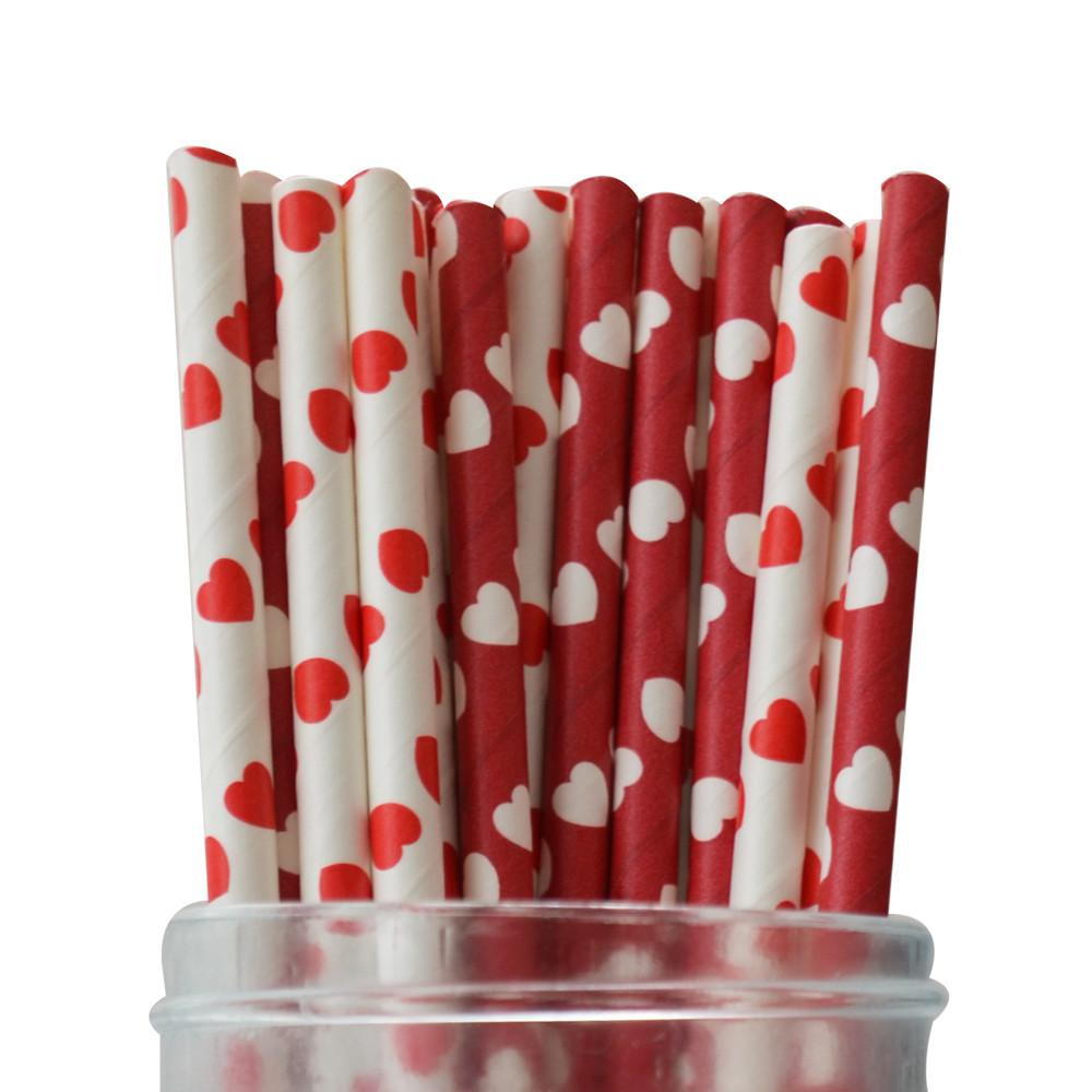 Queen of Hearts Straws Multipack