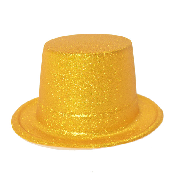 Sparkled Gold Top Hat