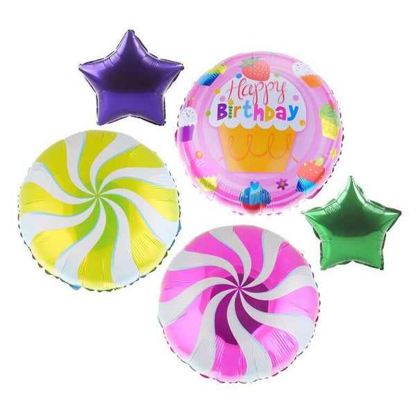 Happy Birthday Cupcake Set