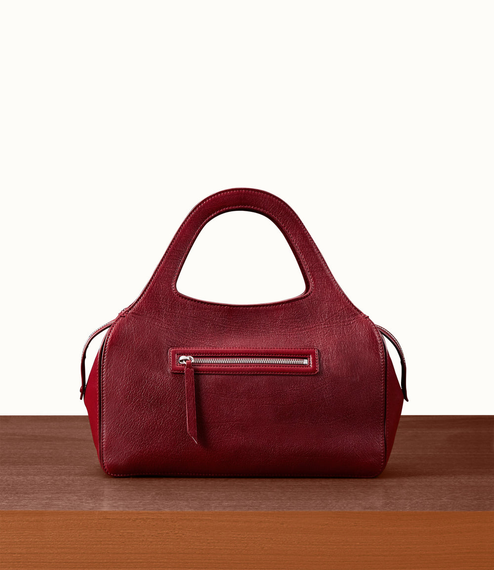 L'Avenue Bag with Shoulder Strap Buffalo Dark Cherry