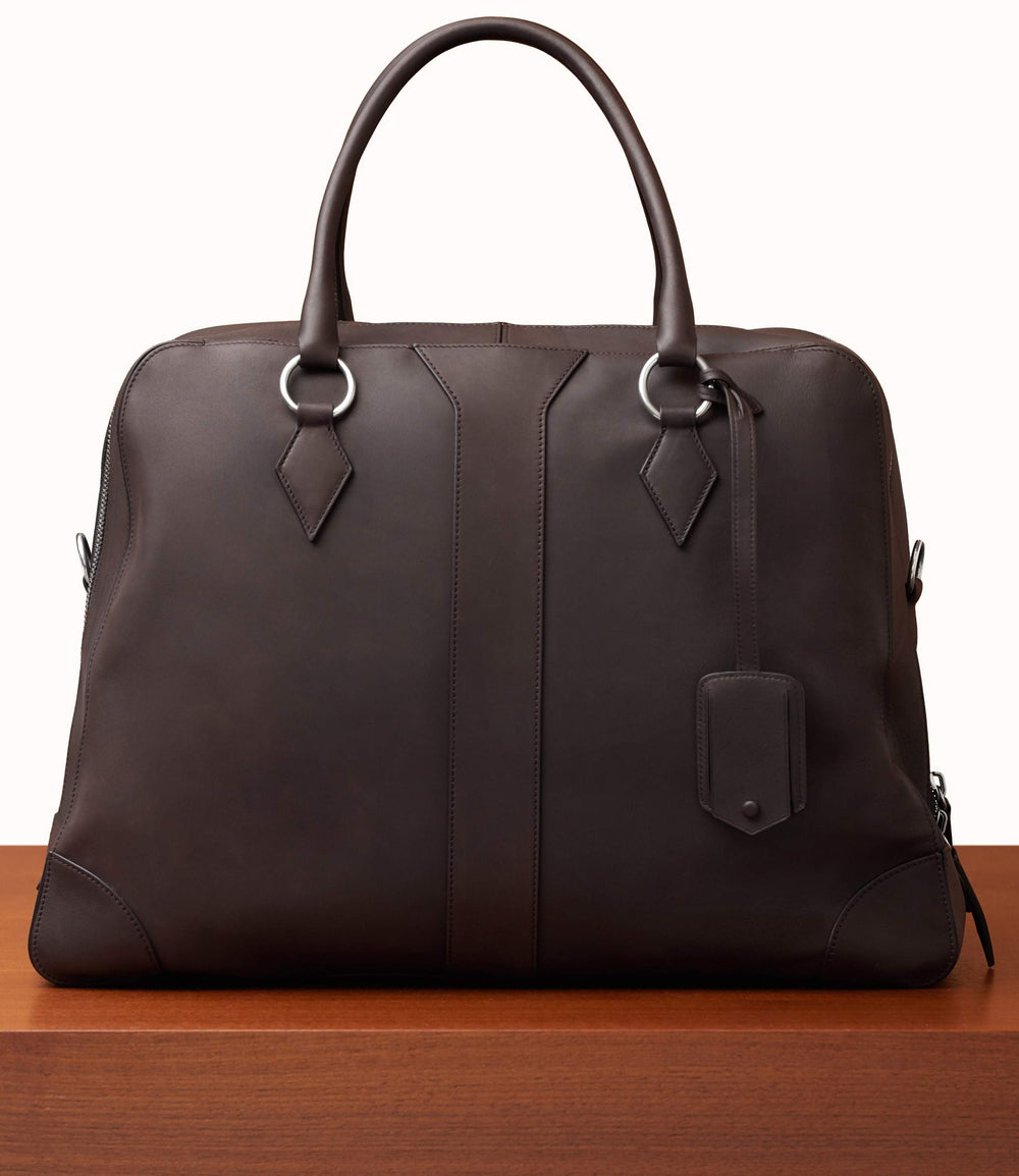 Le Grand Voyage Three to Five Night Bag Natural Calfskin Café