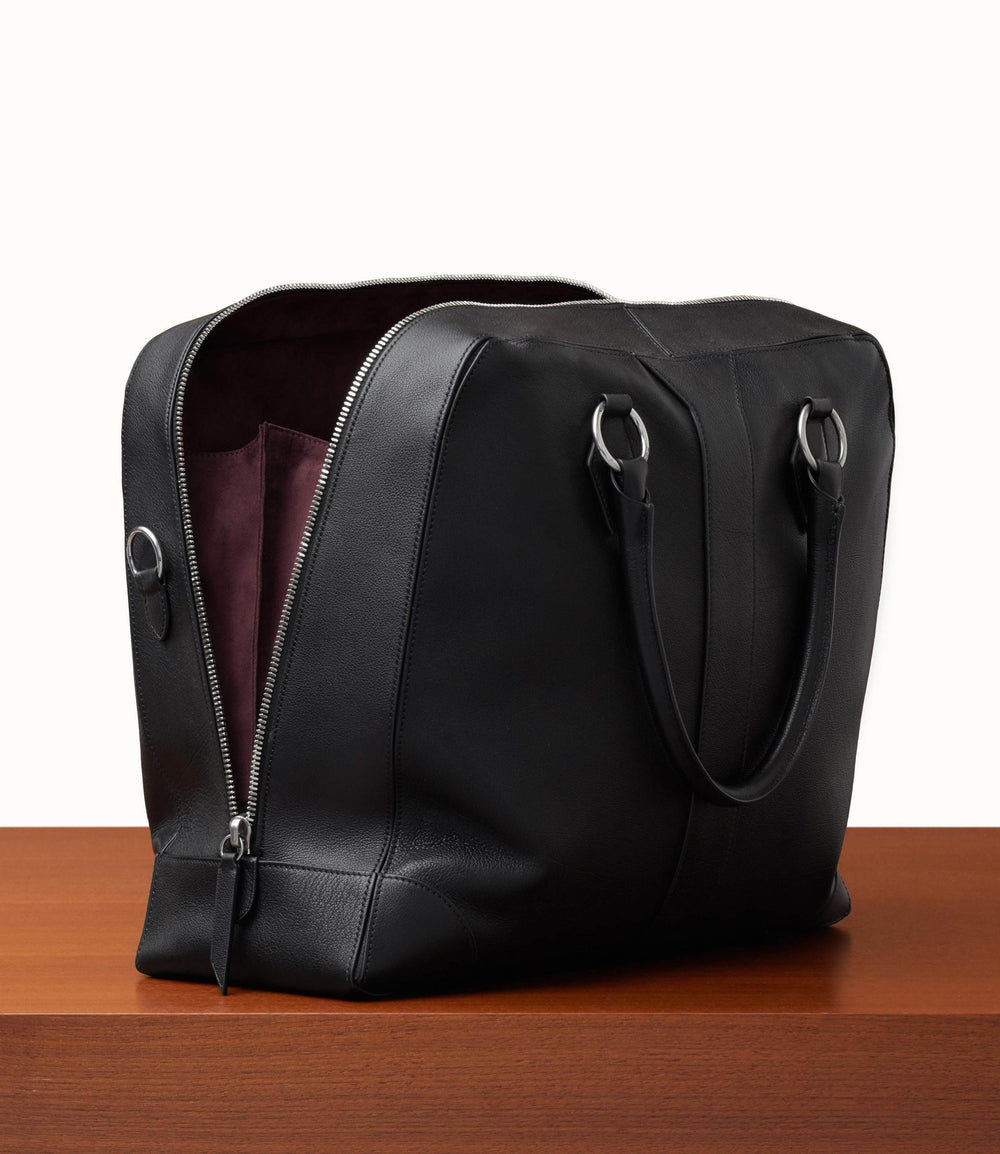 Le Voyage Two to Three Night Bag Buffalo Black