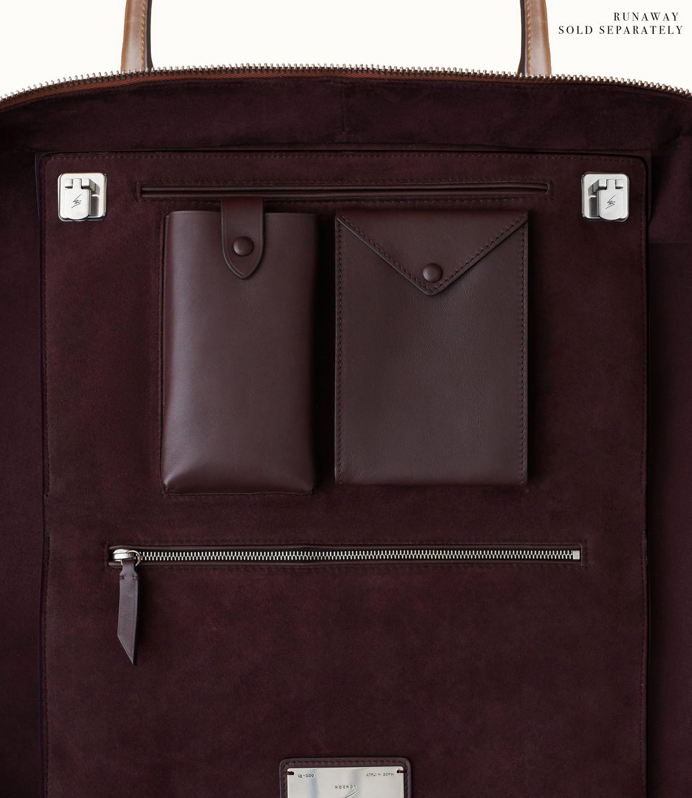 Le Petit Voyage Overnight Briefcase Signature Canvas From Dusk Till Dawn