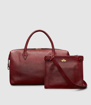 Perriand City and Stowaway Crossbody Buffalo Dark Cherry