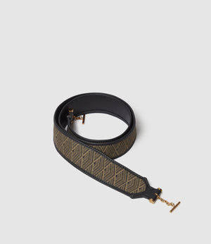 Customisation Shoulder Strap Jacquard Gold