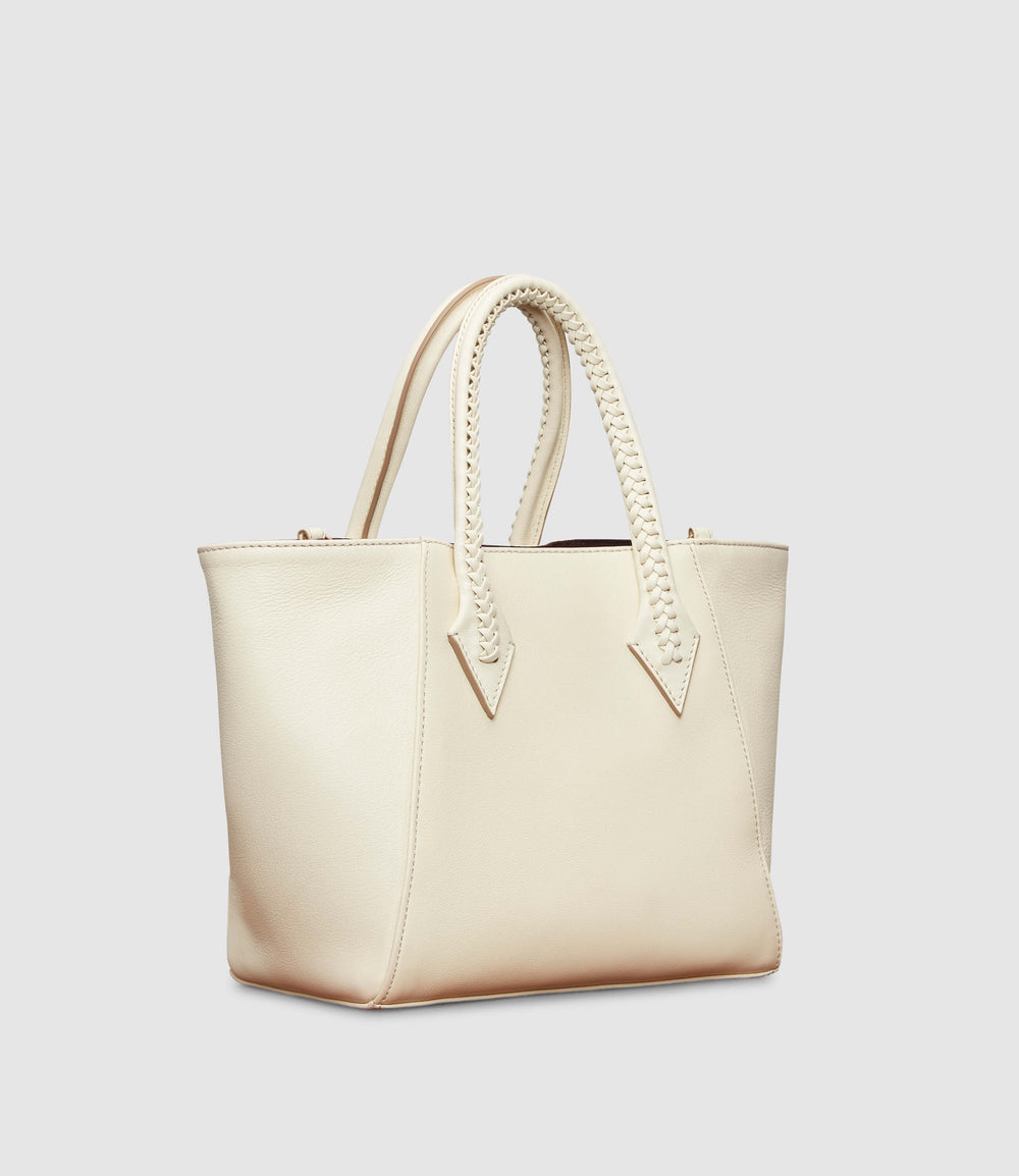 Perriand Medium Smooth Calfskin White Sand