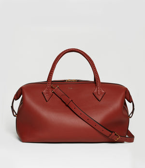 Perriand City Smooth Calfskin Sienna