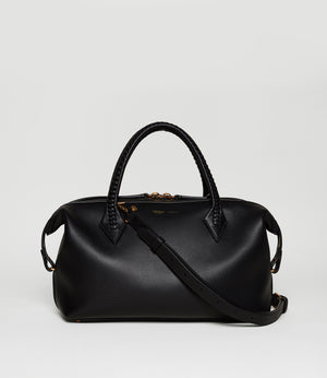 Perriand City Small Smooth Calfskin Black