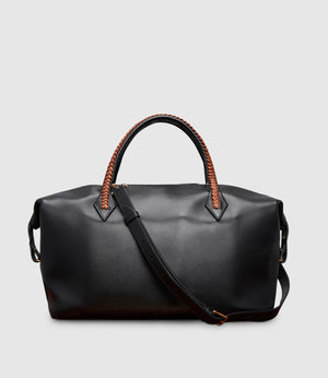 Perriand City Atelier Calfskin Black Cognac
