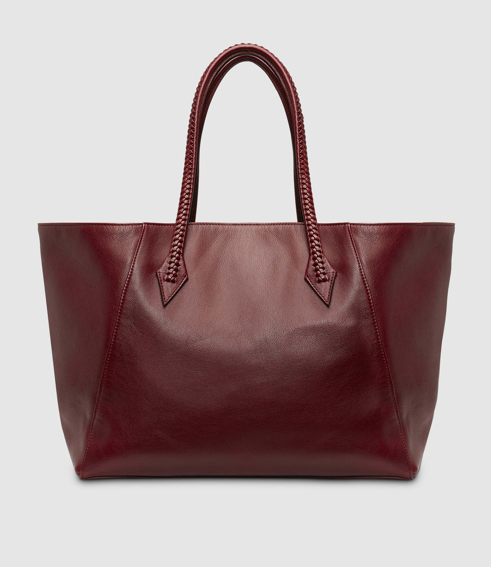 Perriand Collapsible Cabas Buffalo Dark Cherry