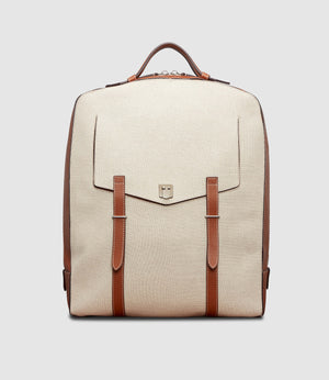 Rider Backpack Natural Linen