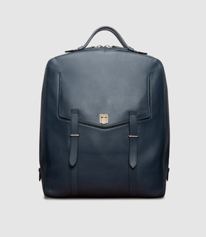 Rider Backpack Smooth Calfskin Slate