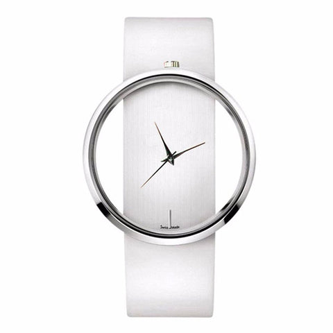 White Minimal Watch