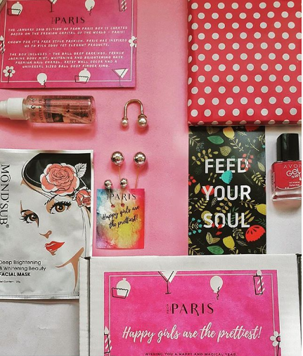 January Edition | From Paris Box