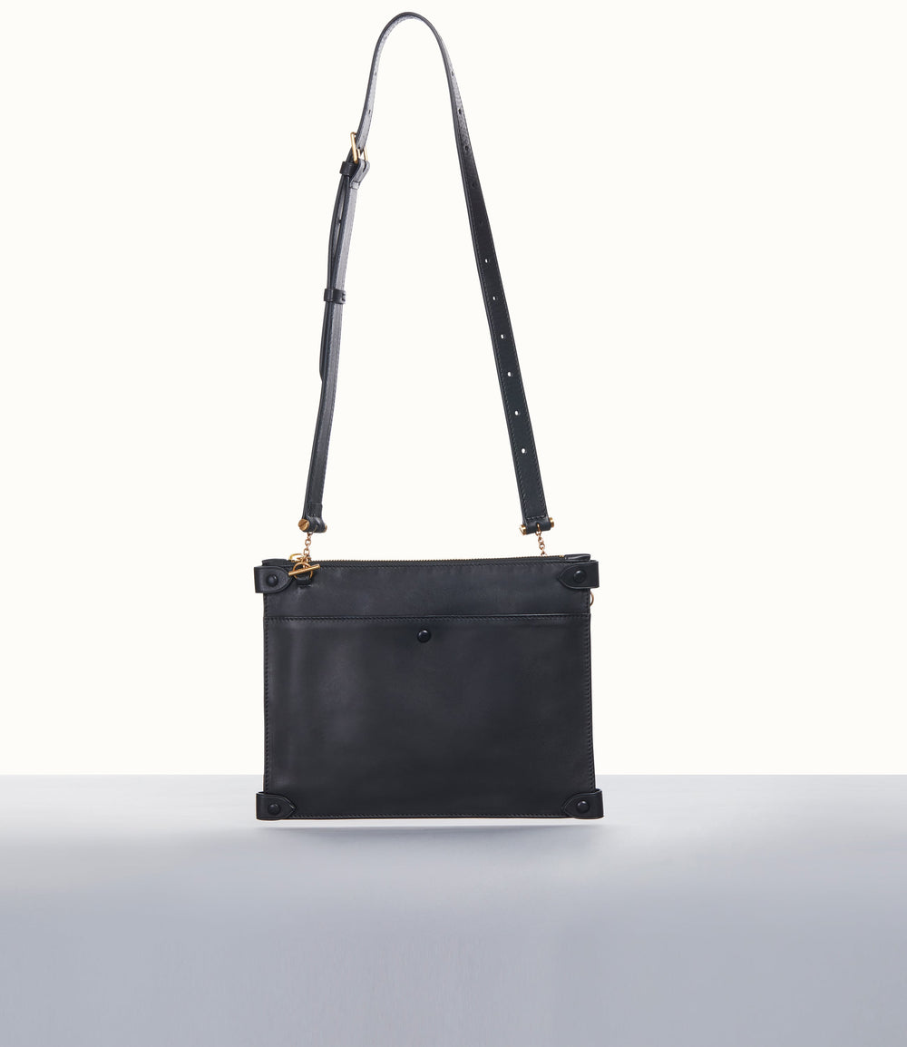 Racine Mini Belt Bag Atelier Calfskin Black